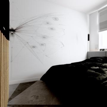 Sypialnia Kraków Projektowanie Wnętrz żory Aranżacja Wnętrz